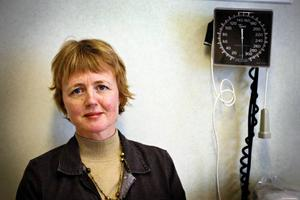 Lisbet Gibson, centrumchef  för medicinska specialiteter.