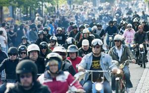 756 deltagare deltog under kortegen i år. Foto: Mikael Forslund