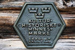 Myhrbodarna är kulturminnesmärkta och ett av Naturvårdsverket utsett Natura 2000-område.