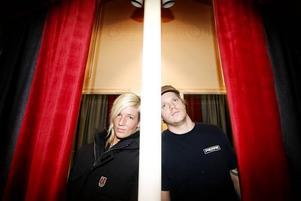 Milo. Lotta Eriksson och Mikael Olsson har känt varann sen de var små. Ni har de ett band ihop.