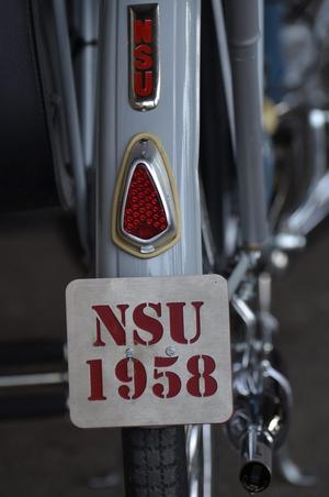 Och samma NSU, bakskärmen.