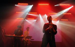 The Sound Of Arrows. Ett band med rötterna i Gävle som består av Stefan Storm (till höger) och Oskar Gullstrand.
