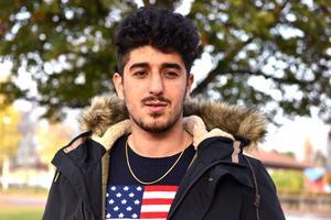 Mohammed Mohammed går i årskurs tre på Mora gymnasium och planerade att börja jobba inom vården nästa år.