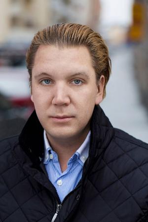 Marcus Hellsten, teaterchef i Gävle.