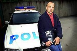 Foto: ANNAKARIN BJÖRNSTRÖM Inte längre polis. Kent Olsson lämnade kåren. Nu är han säkerhetskonsult.
