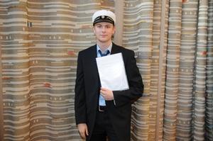 Fredrik Bernhardsson tilldelades Södra Dalarnas teknsika förenings premium.