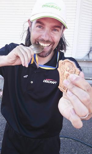 Mer medaljer för Tomas Burvall.