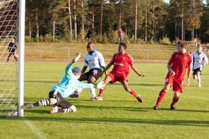 Ytterhogdal i match mot Sveg sommaren 2013. Ytterhogdal vann.