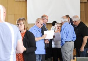 Kommunstyrelsen i Bollnäs diskuterar budgeten för 2017.