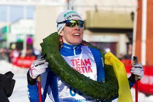 Terese Therell följde upp andraplatsen i Kristinaloppet med att vinna Engelbrektsloppet på söndagen.