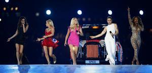 Kommer Spice Girls tillbaka? Det återstår att se, men det lutar åt någon form av återförening i år då gruppen firar 20 år. Arkivbild.