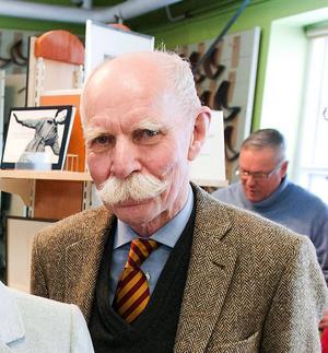 Sven Jansson är mannen bakom boken om handelslivet i Borlänge under 120 år.