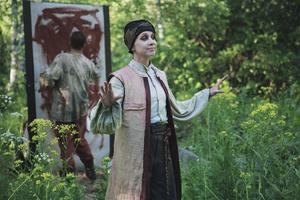 Anna Pareto agerar ciceron.