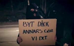 Däckpiraterna hotar med att komma till Bollnäs i helgen.