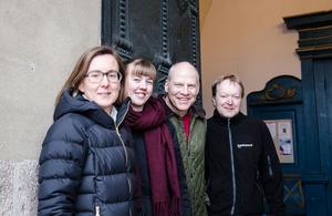 Anna Kjellin, Terese Wängdahl, Dennis Jansson, Stefan Carlsson är fyra av de fem som åker Stafettvasan för Falu pastorat.