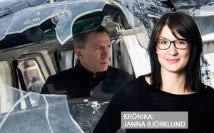Daniel Craig i rollen som Bond i bioaktuella