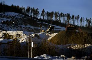 Det var en misslyckad sprängning vid bergtäkten vid Fågelmyran som låg bakom gårdagens kraftiga smäll som hördes över Ornäs/Aspebodaområdet. Foto:Janne Eriksson