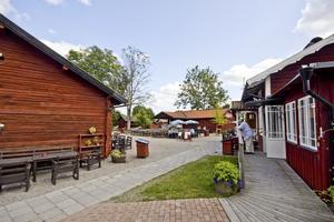 Startpunkt. På lördag samlas det in pengar till barncancerfonden genom ett lopp som sträcker sig från hembygdsgården i Västanfors till Eskilns motionsspår. Foto: Arkiv