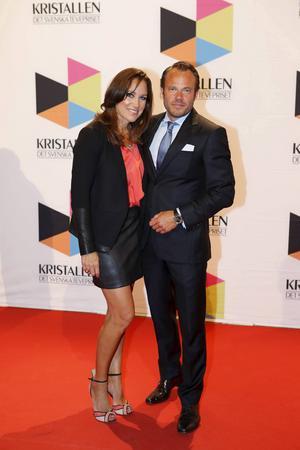 Renée Nyberg är gift med kollegan David Hellenius. Foto: Christine Olsson/TT