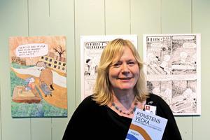 Jeanette Wahl är curator för utställningen