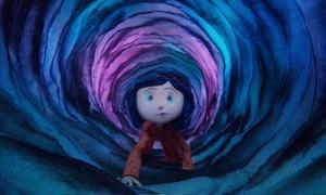"""Animerade """"Coraline"""" bjuder på både skönhet och skräck och är inget för familjens minsta. Foto: UIP"""