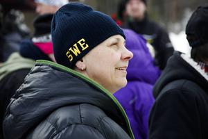 Karina Wexell är ordförande i LoosHamra skoterklubb.
