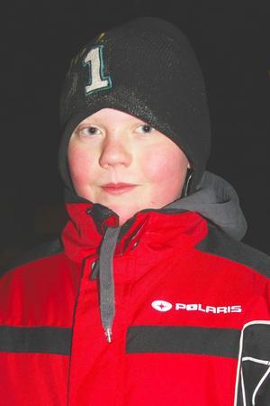 Waldemar Bergström, 12 år, från Via är en hejare på knopar.