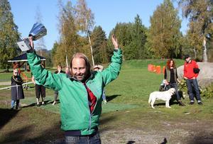 Matti Hallström hade snabbaste tiden i fartmomentet.