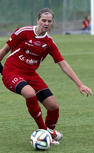 Gabrielle Galvsby blev matchhjälte med två mål.
