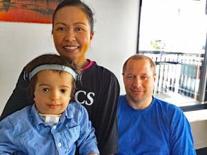 Flytten till Härnösand har inte blivit riktigt som Ture, mamma Pornchita och pappa Lars Mattsson tänkt sig.