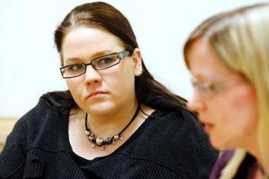 Maria Holmberg har träffat sin coach Sandra Näs vid ett par tillfällen. Hon har bland annat fått hjälp med att träna inför en anställningsintervju. Nu väntar hon på besked från vad hon hoppas ska bli hennes nästa arbetsgivare.Foto: Henrik Flygare