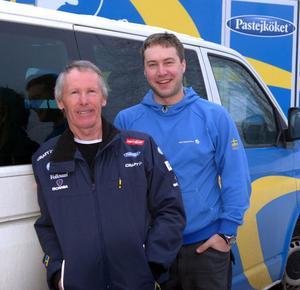Lasse Frykberg och Anders Niemi har under flera år varit vallare åt skidlandslaget.