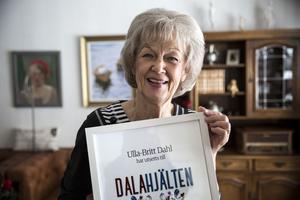 Ulla-Britt Dahl blev Dalahjälte år 2016.