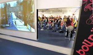44 cyklister gör sitt eget Vasalopp och kollar in det stora Vasaloppet på storbild.