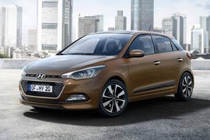 Nya Hyundai i20 har drag från Peugeot 208.