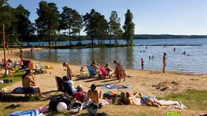I Nykvarn har provtagningar gjorts vid Hökmossebadet, Sundviksbadet, Lövnäsbadet och Taxinge badet.