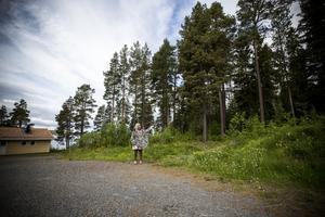 På området Sjövillan finns storslagna visioner om miljöhus och ekobygge.