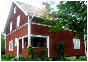 Huset i Bispgården där Elli bodde några år som barn hos Gustaf och Stina Löfgren.