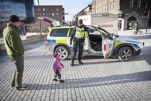 Polisen i Jämtland ökade synligheten som en trygghetsskapande åtgärd.