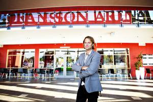 Fredrik Granting tog över som vd för Göransson Arena efter sparkade Maya Olsson. Efter ett år på  posten ångrar han inte att han tog jobbet.