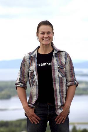 Heidi Andersson har förblivit hembygden i Västerbotten trogen. Nu fyller hon 35 år.   Foto: Andreas Johansson