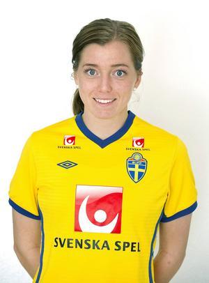 Linda Sembrant, född 1987 i Uppsala, spelar ligafotboll i franska Montpellier.