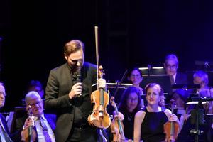 Christian Svarfar berättade om sin Stradivarius, världens nordligaste.