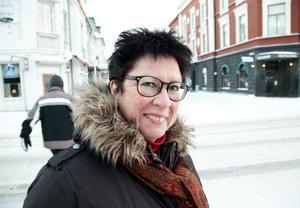 Inger Lind Sjöberg, Forsmo:– Jag har en mycket god relation till dem. Jag gillar muminmamman och hennes handväska. Det är trivsamma sagor.