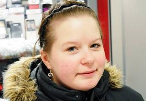 Therese Jutman, 21 år, Östersund:– Jag fick mitt första barn.