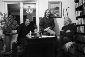 Bobo Olsson och Peter Edvinsson gjorde fjärilsboken om och med