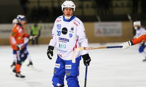 Juho Liukkonen blev matchhjälte för sitt Vänersborg mot VSK.