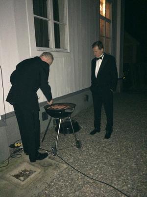 Säbylund, nyårdafton, kl 00.22.