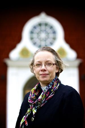 Camilla Nyberg är ny kyrkoherde i Sundborns församling.