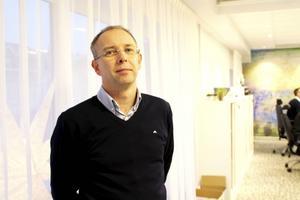 Jonas Nyberg har sedan 1991 arbetat på banken.